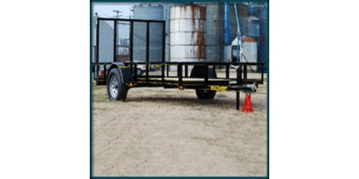 Rice - Model 3500 - Single Axel Utility Trailer
