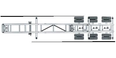 Model CCBR32-3S-00 - Rear B-Train Chassis