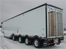 Fericar - Model High Volume - Forestry Trailer