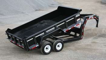 Model DL-Series - Heavy Commercial Grade Dump Trailers
