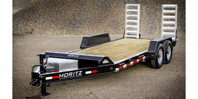 Moritz - Model ELH AR-Series - Heavy Commercial Low Profile Equipment Trailer