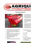 Bucket Brush Specification Brochure