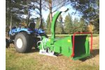 Traktor - Model NHS 130e - Wood Chippers