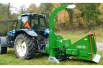 Traktor - Model NHS 300e - Wood Chippers