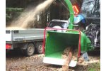 Traktor - Model NHS 180i - Wood Chippers