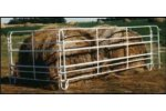 Telescoping Bale & Loose Hay Feeder