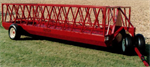 Heavy Duty Slant Bar Feeder Wagon