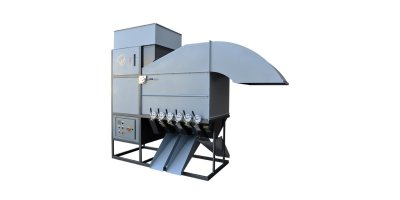 Model GCS - 1400 - Portable Grain Cleaning System