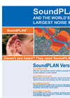SoundPLAN Propagation Software® - Noise & Air Pollution Largest Noise Brochure (PDF 1.52 MB)