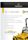 Hustler - Model X-ONE - Zero Turn Riding Mower Brochure