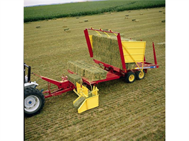 New Holland - Model 1037 - Bale Wagon