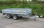 CLH - Unbraked Flat Bed Trailers