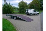 Hazlewood - Model 2000F - Flatbed Trailer