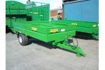 Single Axle Dropside Tipper Trailer