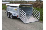 Model 10ft and 12ft - Twin Axle Livestock Trailer
