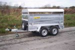Model 8ft - Twin Axle Livestock Trailer