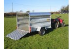 Solid Side Livestock Trailer