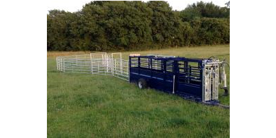 Mobile Cattle Handling Crush