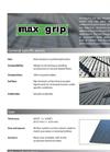 Maxgrip - Rubber Mat- Brochure