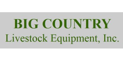 Big Country Livestock Equipment, Inc.