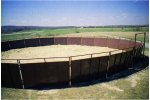 Sheeted Round Pen