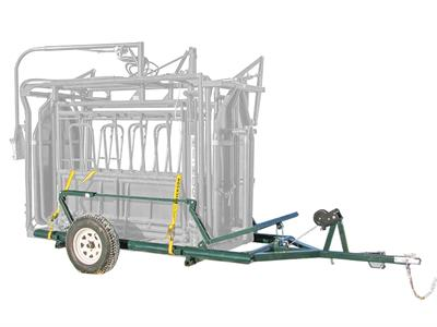 Hi-Hog - Cattle Squeeze Trailer