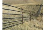 6 Rail Continuous Fence
