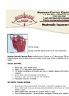 Bowman - Hydraulic Squeeze Chute Datasheet