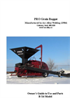 Model PRO - Grain Bagger - Manual