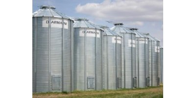 Darmani - Model 24 - 10628 - Flat Bottom Grain Bin