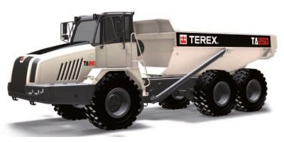Terex - Model TA250 - Articulated Dump Truck