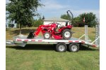 Eby - Flatbed Deck-Over Equipment Trailer