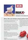 Ziggity - Model Max3 - Poultry Drinkers Brochure