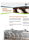 Model F1 - Wet/Dry Finishing Feeder Brochure