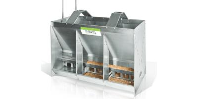 Model WF8 - Water Space Wean-to-Finish Feeder