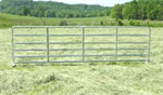 Model 6 Bar - Galvanized Farm Gate