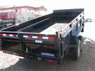 Model 16X83 - Goose Neck Dump Trailer