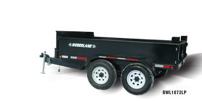 WEBERLANE - Model 7 TON 6X10 - Dump Trailer