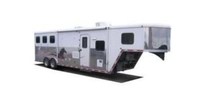 Steel-Frame Living Quarters Horse Trailer