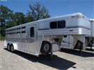 Model 4 Star Stock - Combo Horse Trailers