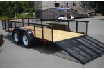Carry-On - Model 6.4 X 16 - High Sides Open Utility Trailer