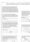 How to Draw the Layout of the Basic Curved System - Brochure