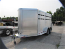 Adam - Model BJA-147 - Aluminum Stock Trailer