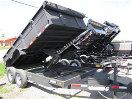 Diamond C - Model 7 Ton - Dump Trailer