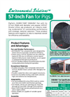 CHORE-TIME- ENDURA - Model 57-Inch - High-Performance Corrosion-Resistant Fan Brochure
