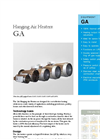 Munters - Model GA30 - Hanging Air Heaters - Brochure