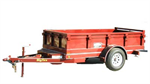 Delphi - Model 50DS - Single Axle Low Profile Dump Trailer