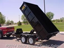 C&B - Model 14K - Heavy Duty Dump Trailer