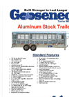 Steel Trailer Brochure Aluminum Trailers Brochure