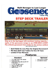 Step Deck Trailers Brochure
